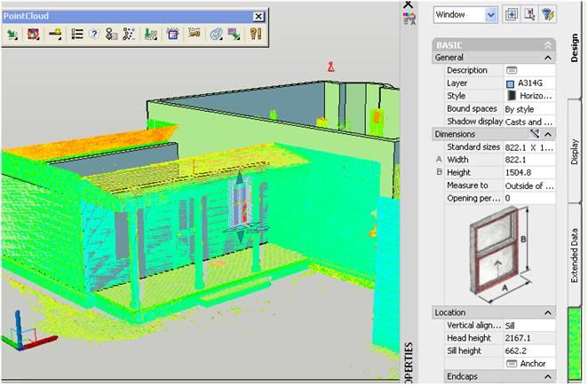 我们通过对三维激光扫描技术的测量工艺流程和变形监测的试验研究,对重要结构物的长期监测或定期检测,结构功能改变或改造前的鉴定等,探索三维激光扫描技术在变形监测领域的理论方法。特别在地震等灾后过后,需要对大型桥梁、重要建筑物、核反应堆结构等的损伤评估。 例如,将扫描得到的建筑物前后两期点云数据进行对比分析。用一组等间距的横向或纵向的截面截取两个扫描面.得到相同位置处两个扫描面之间点云的位移。即可将其视为两个时期的变形量。根据需求控制截面的间距,可得到密度不同的结果。将世贸大厦编辑后的相邻两期离散点云数据叠加在